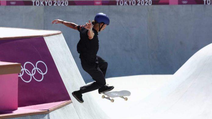 El skater de Móstoles Danny León se queda a las puertas de la final olímpica