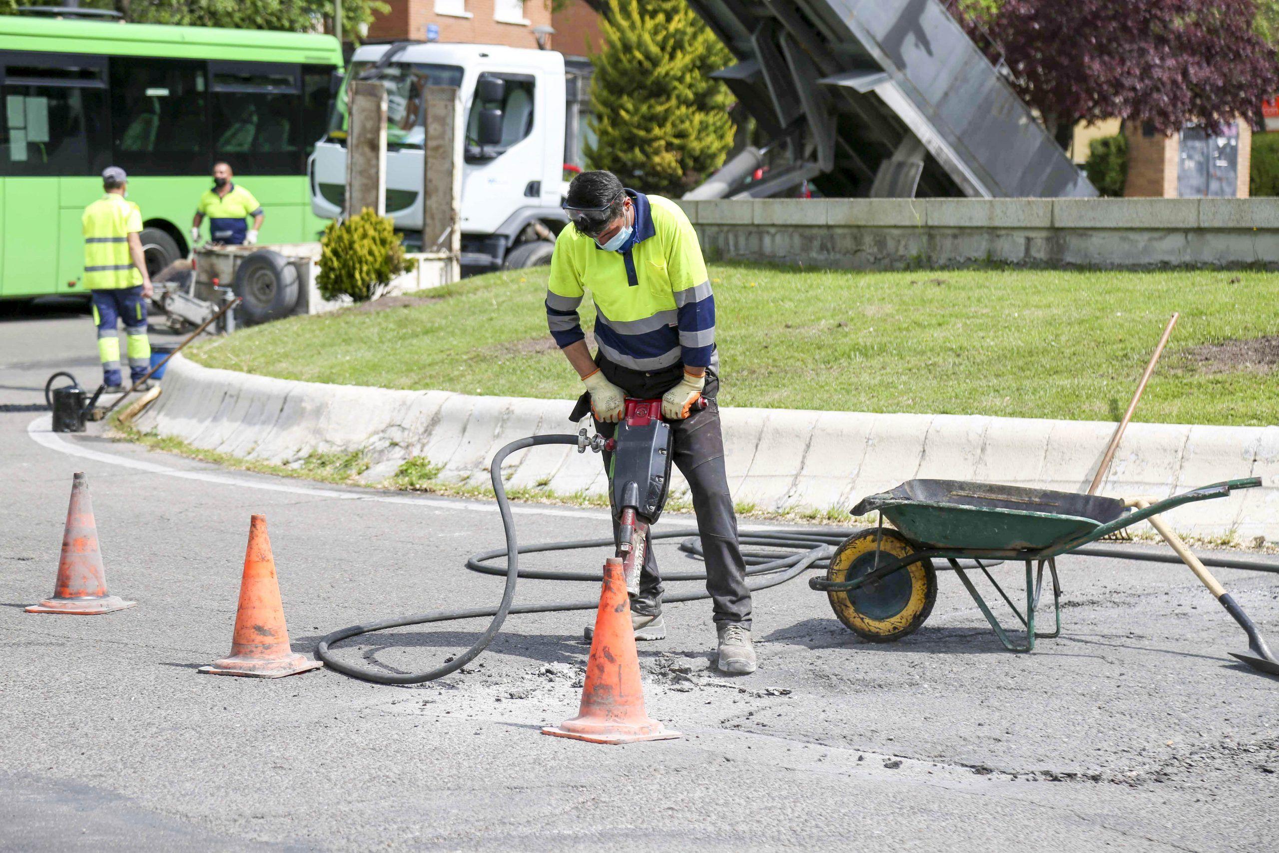 Móstoles ha reparado 2.736 metros cuadrados de calles