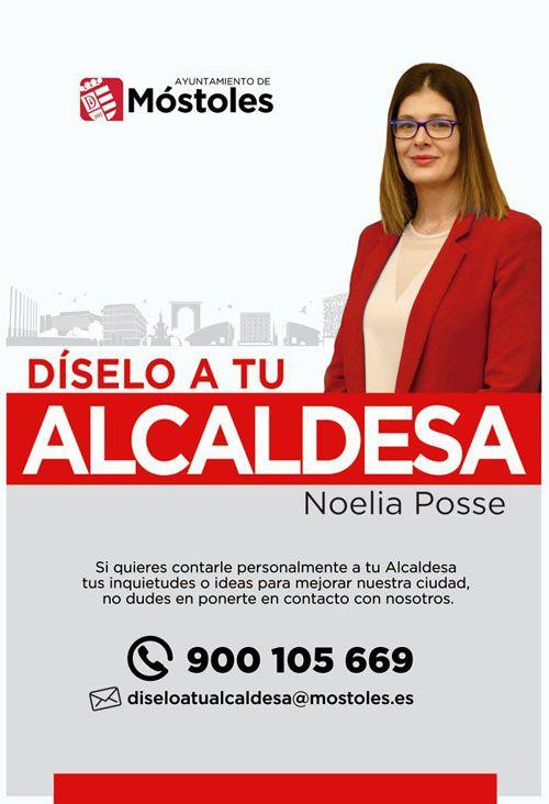 En Móstoles 'Díselo a tu Alcaldesa'
