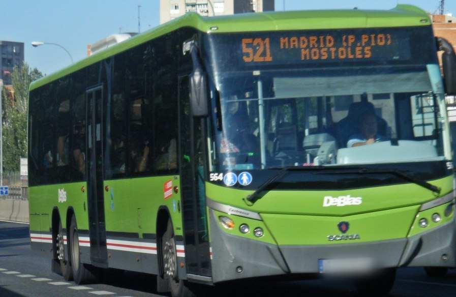 Abono transporte gratuito para los mayores de Móstoles